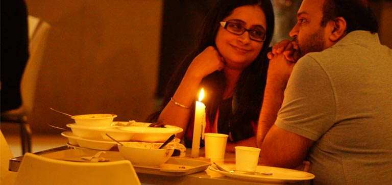 Earth hour celebration forum neighbourhood bengaluru for 13th floor bangalore candle light dinner